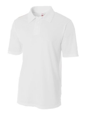 A4 Adult Textured Polo